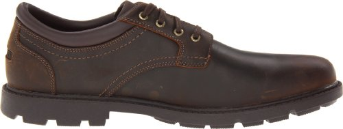 Rockport Heren Ruige Schoenen Plain Teen Waterproof Oxford Shoe Tan