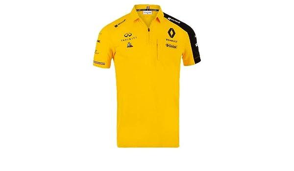 Renault F1 2019 Team Polo Amarillo XXXL: Amazon.es: Coche y moto