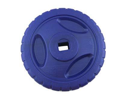 Fisher-Price Lights and Sounds Trike Teenage Mutant Ninja Turtle #DRH68 - Replacement Purple Wheel -