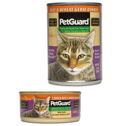 PetGuard Tender Beef and Wheat Germ Dinner For Cats, My Pet Supplies