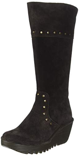 Fly 002 Bottes Yota903fly London Marron Hautes Femme expresso qcq01SrKy
