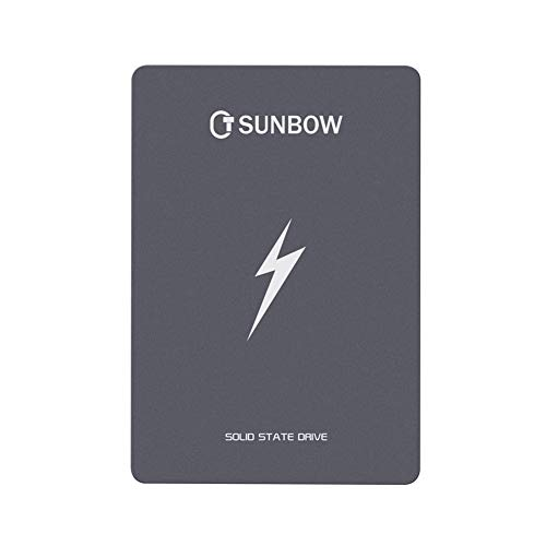 TC SUNBOW 120GB 128GB SSD 2.5 Inch SATAIII 6GB / s Internal Solid State Drive for Notebook Tablet Desktop PC (120GB) ()