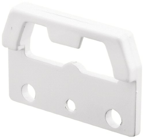 Slide-Co 173967-W Window Latch Face Keeper, White,(Pack of 2)