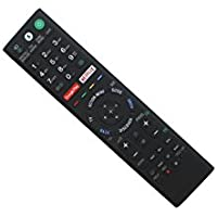 Hotsmtbang Replacement Voice Remote Control for Sony RMF-TX300E 149332011 RMF-TX300B RMF-TX301E RMF-TX300A RMF-TX300P RMF-TX300T RMF-TX300C RMF-TX300J RMF-TX200E RMF-TX201U 4K HDR Ultra HD Android TV