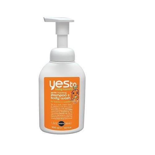 Oui Pour Bébé Carottes Shampooing / Body Wash, 10-Fluid Ounce