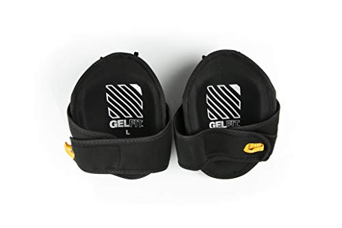 ToughBuilt GelFit Professional Knee Pads - Comfortable Gel Cushion & Heavy Duty Foam Padding, Strong Adjustable Straps, Premium Quality Built to Last (TB-KP-G2) (SnapShell compatible) NEW by ToughBuilt (Image #3)