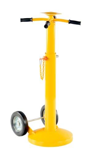 Vestil Trailer Stabilizing Jack - Economy, 5,000-Lb. Lifting Capacity, 41in. to 57 1/2in. Service Range, Model# SJ-35-EF ()