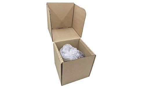 Caja de Cartón para Tazas 12,3 x 12,3 x 13,5 cm (Paquete de 10 Cajas) - Color Marrón. Para Uso Particular o Venta Online. Envíos o Mudanzas.