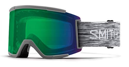 Smith Optics Squad Xl Adult Snow Goggles - Cloudgrey/Chromapop Everyday Green Mirror/One Size