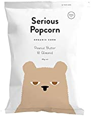 Serious Popcorn Peanut Butter and Almond Popcorn 80 g, 80 g