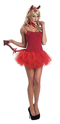 Sassy Devil Costumes (Womens Halloween Costume- Sassy Devil Adult Costume Accessory Kit)