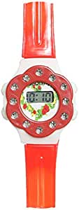 Kid's Dial Mixed Material Band Watch