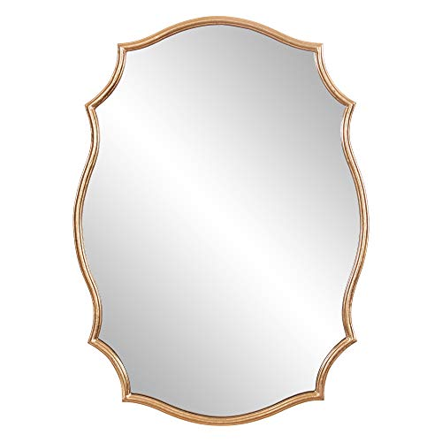 Patton Wall Decor 24x36 Gold Ornate Accent Wall Mounted Mirrors