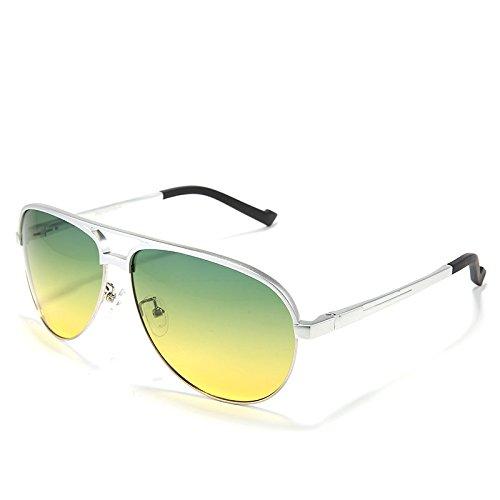 0220139bd2 Bueno wreapped TIANLIANG04 Día y noche en Doble Uso estilo piloto gafas de  sol polarizadas para