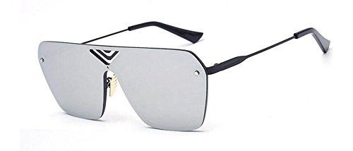 Mercure style retro soleil Lennon lunettes rond du métallique en inspirées polarisées Blanc de vintage cercle wpZpqOXTx