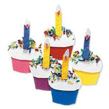 Kiddie Cupcakes - Jolee's By You Dimensional Sticker, Kiddie Cupcakes