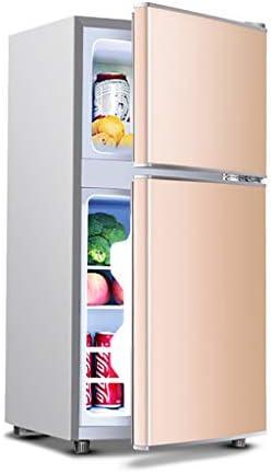 119 L両開きミニ冷蔵庫、冷凍室31L |冷蔵庫コンパートメント86L、ミュート|省エネ| 7段階温度調節可能| A +