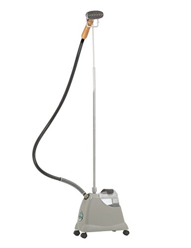 J-2000M Jiffy Garment Steamer with Metal Steam Head| residential series| 230V available for international use|| Voltage options available| Unbreakable 6'' Metal Head| Solid Wood Handle| 5.5' Hose| by Jiffy Steamer