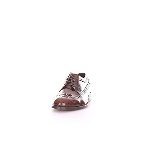 Sandlers De Cuero Zapatos 8001lbrown Cordones Marrón Hombre rwvqAXr