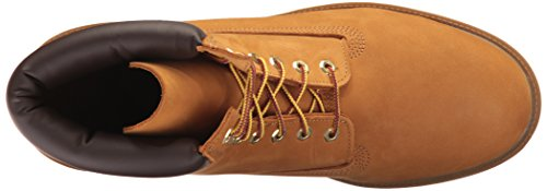 "Timberland Men's 6"" Basic Boot-Contrast Collar, Wheat Nubuck, 11 M US"