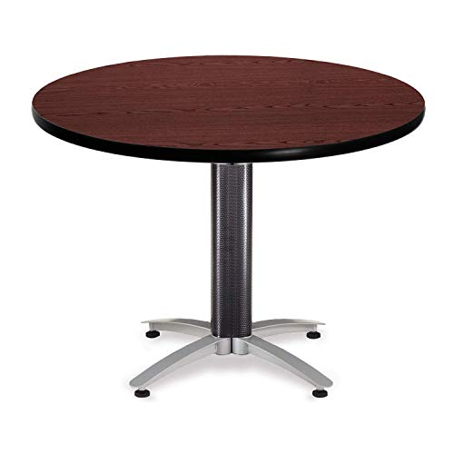 (OFM KMT42RD-MHGY Round Multi-Purpose Table, Metal Mesh Base, 42