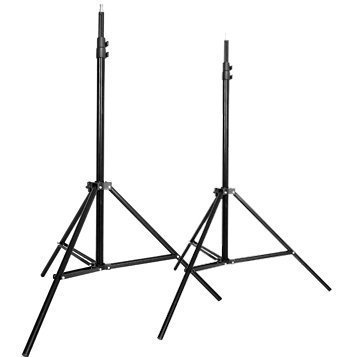 CowboyStudio Set of Two 7 feet Photography Light Stands with Cases by CowboyStudio