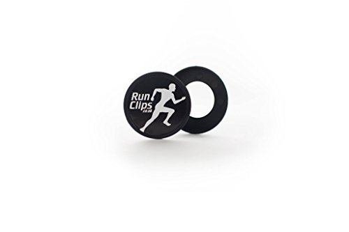 Run clips pin less bib race number fasteners (pack of 4) Runclips SB