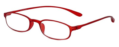 CliC Reading Glasses, Red