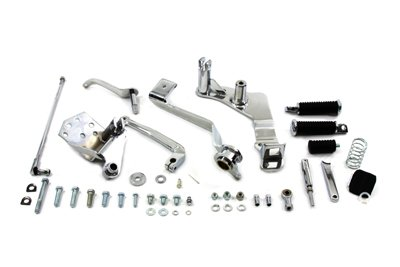 V-Twin 22-1063 - Chrome Billet Forward Control Kit -