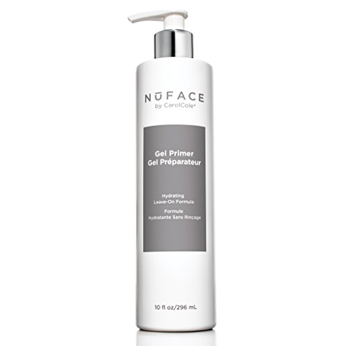 NuFACE Hydrating Leave-On Gel Primer | Use with NuFACE Device | Smooths Skin, Reduce Wrinkles | Lightweight Application | 10 fl. oz.