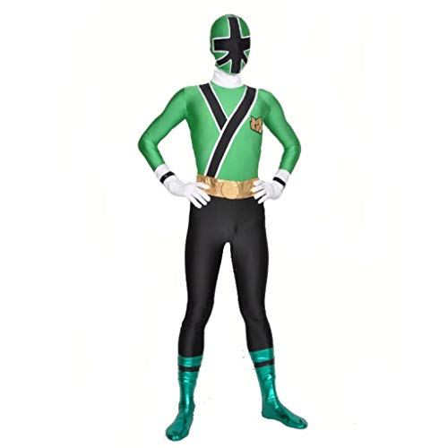 Children Power Costume Lycra Spandex Samurai Rangers