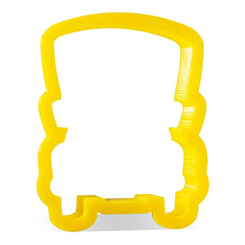 School Bus Front Cookie Cutter 3.75 in PC0458 - CookieCutterCom - Durable Plastic