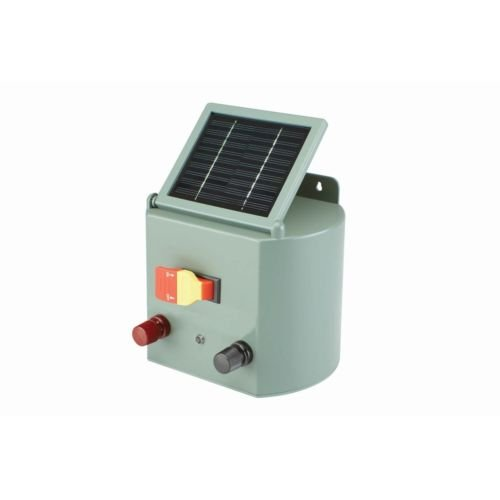 Solar Powered Electric Fence Charger Farm Horses & Cattle Adjustable Control by Balance World Inc