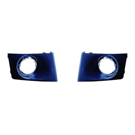Ford Focus Se Sedan (Ford Focus Sedan 2008-2009/2010-2011 Sedan S.SE.SEL Model Bezel w/ Foglight Hole Pair Driver and Passenger Side FO2598101, FO2599101)