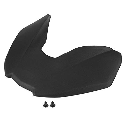 Aramox Motorcycle Front Fender, Black Motorcycle Accessories Front Fender Beak Extension Extender Wheel Cover Cowl For G310GS 2017-18