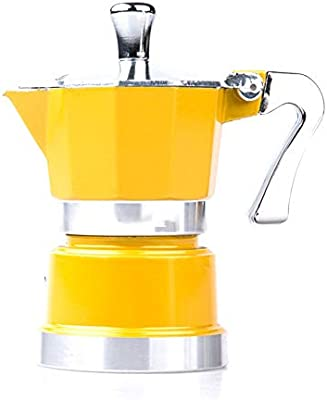 Asffdhley Cafetera Moka Espresso Maker Aluminio Mini Mocha ...