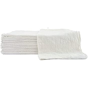 Cleaning Solutions 79007-100PK Premium Grade Heavy Weight Natural Shop Towel - Pack of 100