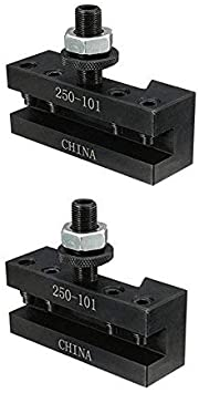 Tamkyo 4PCS Lathe Facing Holder for AXA Quick Change CNC Turning Tool 250-101