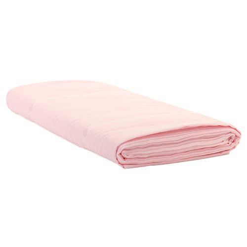 Koyal Wholesale Chiffon Fabric 58 Inch Wide in Bulk 10 Yards Bolt, 30 Feet Long for Wedding Arch Decor, Ceiling Draping Panels, Sheer Fabric Backdrop, Table Runner or Skirt (Blush Pink) ()