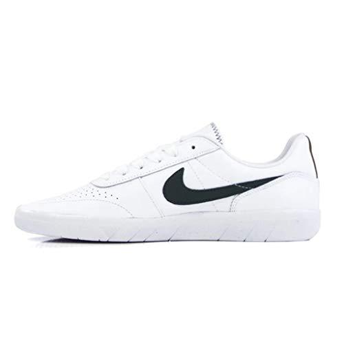 Nike SB Team Classic Premium Skate Shoes (White/Galactic Jade-Desert Ochre-White,10 UK)