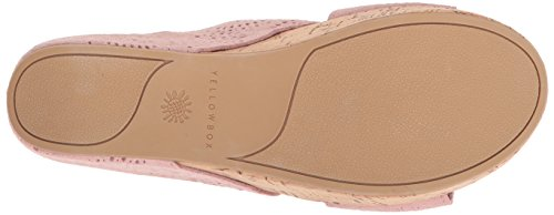 Yellow Box Women's Sawyer Wedge Sandal Blush free shipping comfortable sale enjoy best prices cheap best place 2014 new online 57U3UVCaL