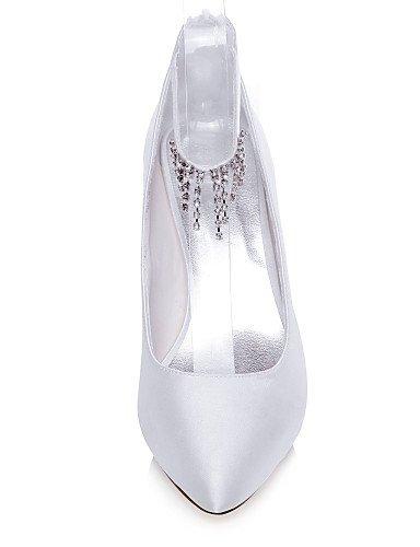 GGX/Damen-Ehering Hochzeit Schuhe Heels/spitz Toe Heels 3in-3 3/4in-white