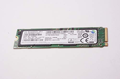 FMS Compatible with 5SD0L73444 Replacement for Lenovo 256gb Pcie Nvme Ssd Drive 80VF00MHUS 910-13IKB 720-13ik