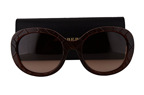 Burberry BE4218 Sunglasses Matte Brown w/Brown Gradient Lens 358313 BE 4218 by BURBERRY