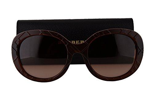Burberry BE4218 Sunglasses Matte Brown w/Brown Gradient Lens 358313 BE - Men Sunglasses Burberry Sale