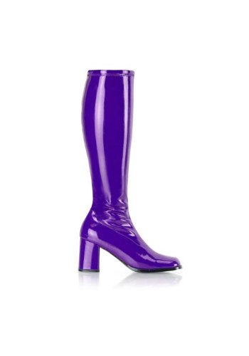 6 Boots Shoe Fancy GoGo Womens Dress Size Purple qTSqg