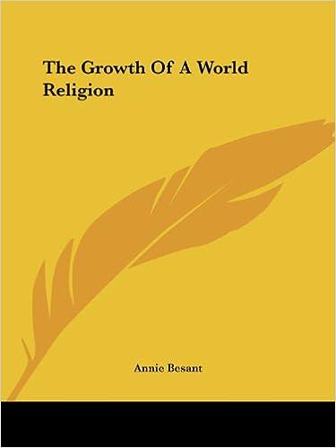 PDF-eBooks kostenlos herunterladen The Growth Of A World Religion PDF PDB CHM