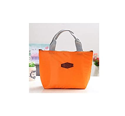 4c1fc28003b3 Buy Shopystore Orange Women Men Lunch Bag Cooler Beam Port Lunch Box Lady  Handbag Child Kids Lunch Bag Online at Low Prices in India - Amazon.in