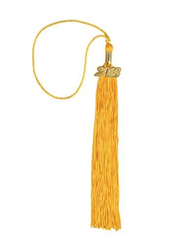 Graduation Tassel with Gold 2018 Year - Graduation Tassel Hat