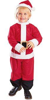 Santa's Lil Helper Toddler Costumes (Lil' Santa Suit Baby Infant Costume - Toddler)